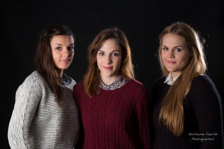 Seance photo 3 soeurs en studio a Charleville Ardennes